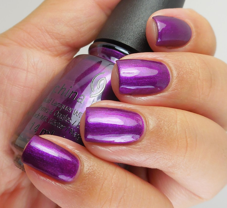 China Glaze Purple Fiction 2