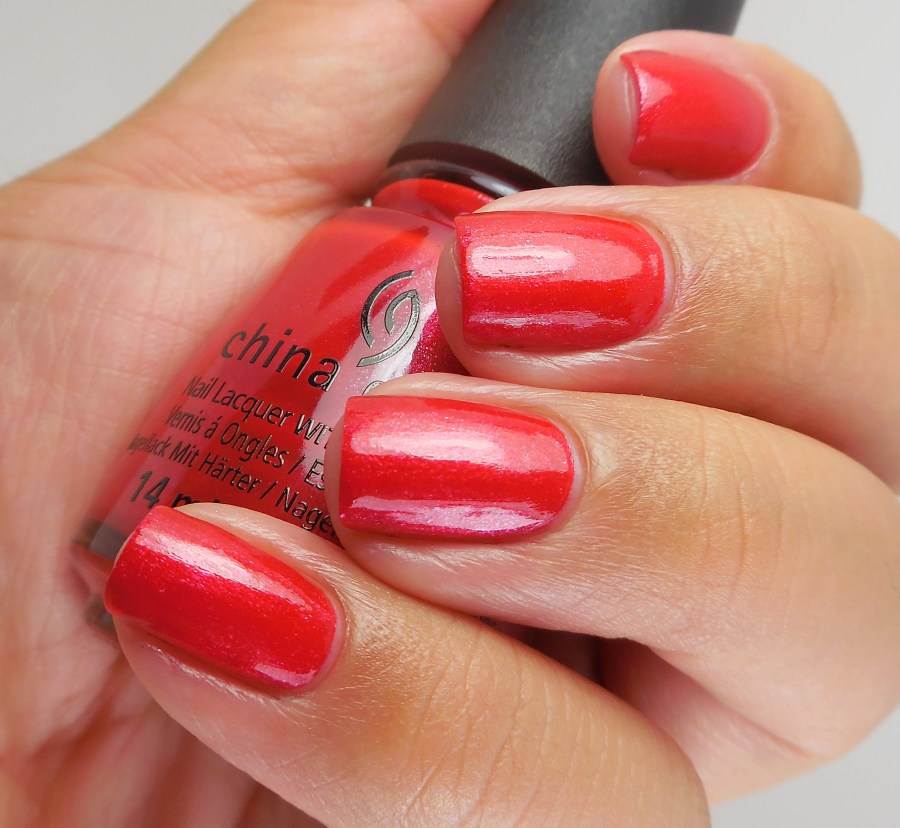 China Glaze Y'all Red-y For This 2
