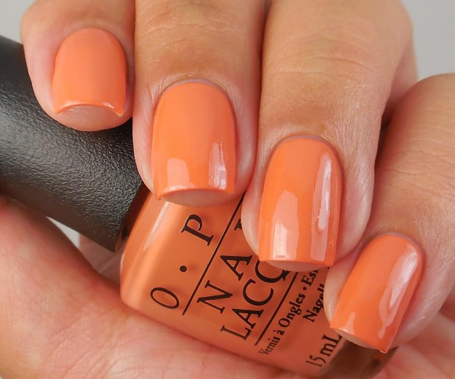 OPI Freedom Of Peach 1