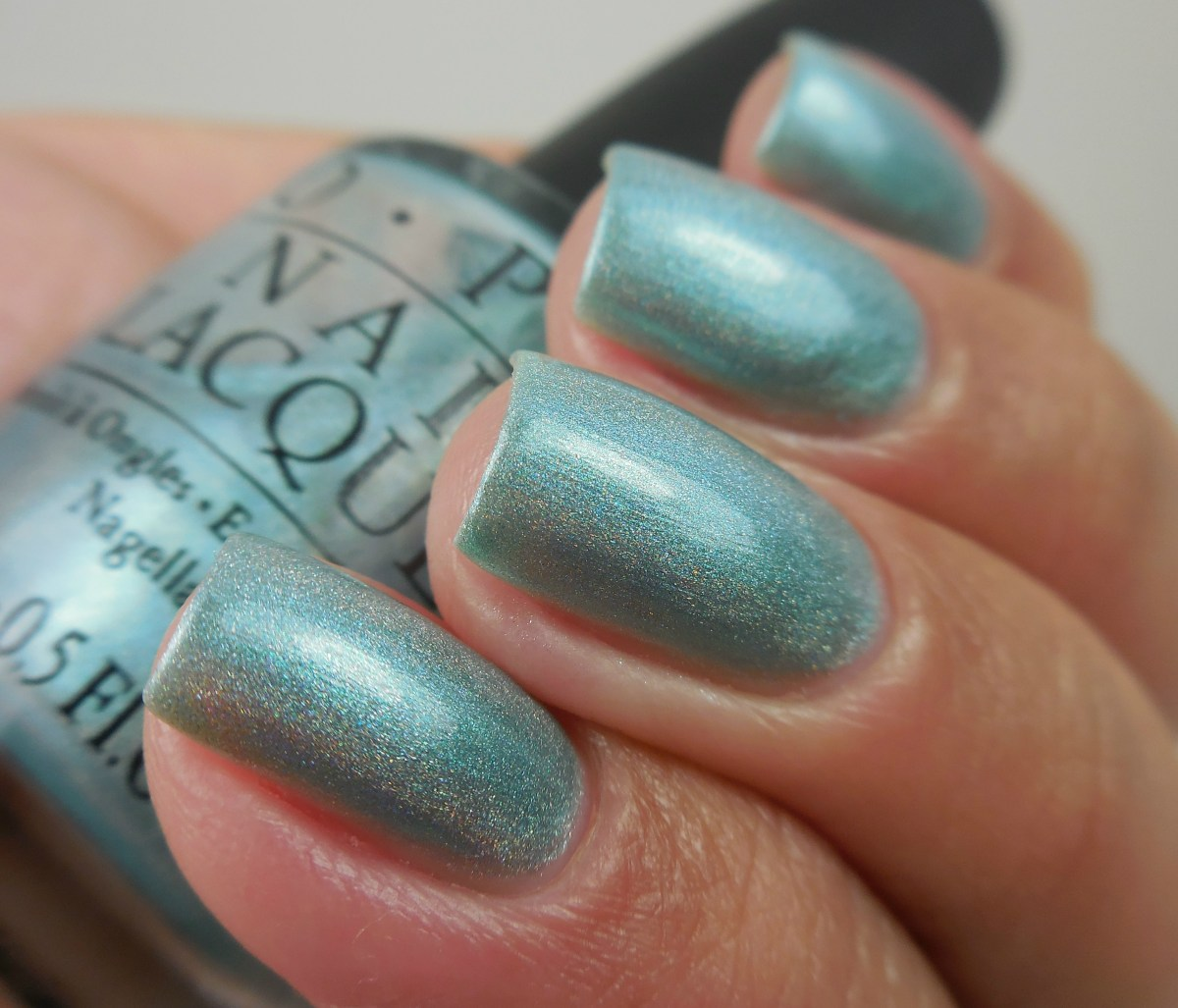 OPI Blue Moon Lagoon - #vintagepolishfriday