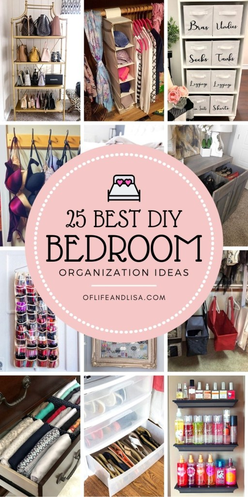 25 Amazing Small Bedroom Organization Tricks And Tips
