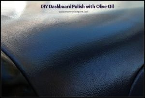 Use Olive Oil on your dashboard to make it shine like new.