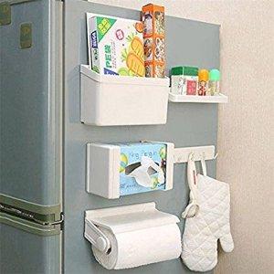 Use this fridge organizer to store kitchen essentials!