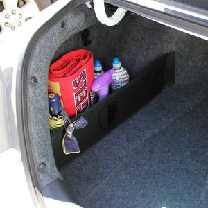 This organizer is perfect for storage your car essentials in your trunk without a huge mess!