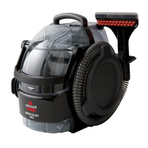You will want to use a professional steamer to clean hard to remove stains such as blood, sweat and urine from your mattress.