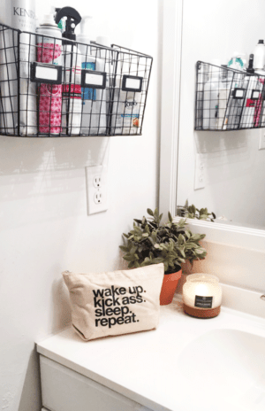 XvgFRr e1500430244893 - 11 Super Creative Ways to Organize Your Bathroom Using Baskets