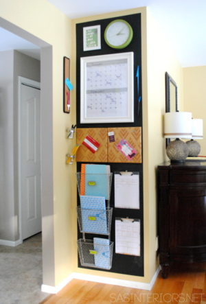 This family command center has everything you need to make your life more organized.