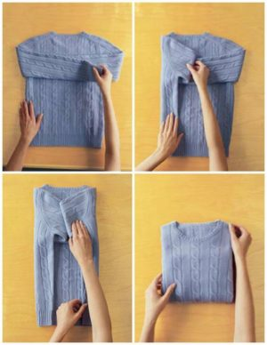 10 Genius Ways to Fold Your Clothes and Save a Ton of Space
