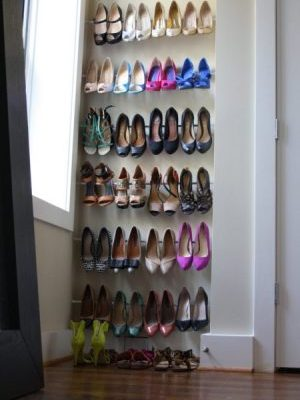 19 Ways to Organize Your Shoe Clutter on a Tight Budget