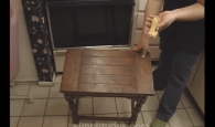 You can clean wood furniture with a banana. No, seriously.