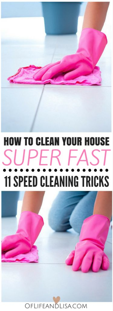 How To Clean House Fast Mesmerizing 11 Speed Cleaning Tips And Tricks For A Messy House Inspiration Design
