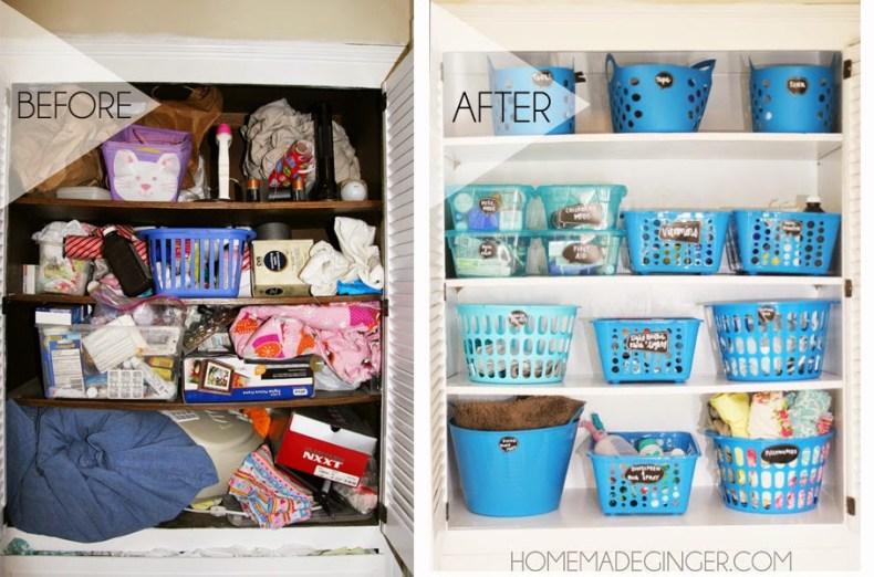 21 Brilliant Dollar Store Home Organizing Ideas