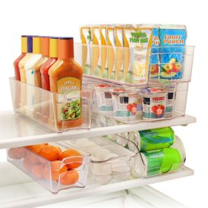 I think these bins would look great in my refrigerator. Repin if you agree!