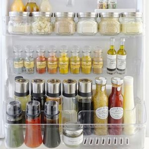 Japanese fridge organization idea. Love this! Repin for later.