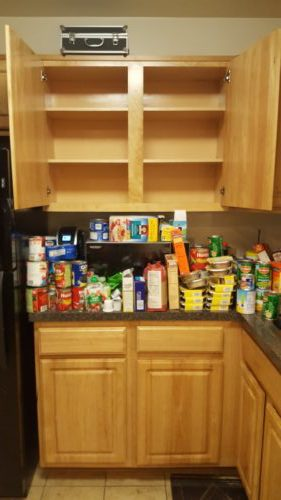 To Start The Decluttering Process, Remove Everything From Your Kitchen  Cabinets.