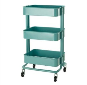 Mobile cart for storage