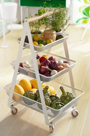 15 Genius Diy Fruit And Vegetable Storage Ideas For Tiny Kitchens Of Life And Lisa