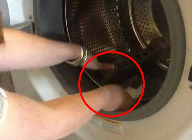 There could be something dangerous in your washing machine.