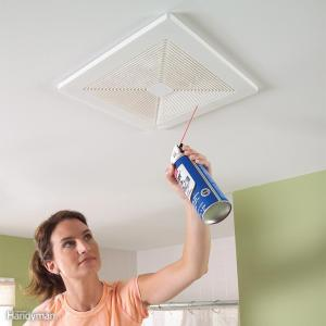 Use compressed air to quickly clean your hard to reach air vents.