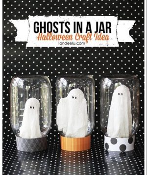 OMG this is cute! I love this easy diy Halloween decor!