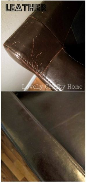 Hide small scratches in your leather furniture with shoe polish. Repin for later!