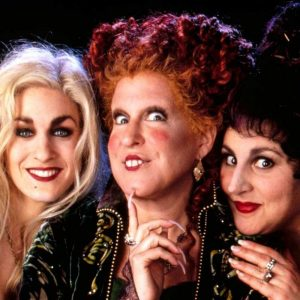 Hocus Pocus! I love this movie! Can't wait to watch it on Halloween
