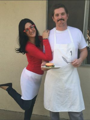 bob and linda from bobs burger halloween costume for couples how sweet is this
