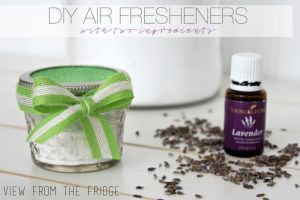Instead of lavender, use cinnamon or peppermint oil to make your home smell like the holidays!