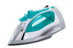 Use the steam from an iron to get rid of deep set in carpet stains.