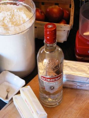 When making your pie crusts, add a little vodka to make them flaky and tender.