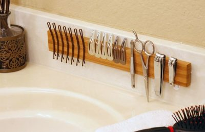 Charming Install A Magnetic Strip On Your Bathroom Counter Or In A Drawer. Design Ideas