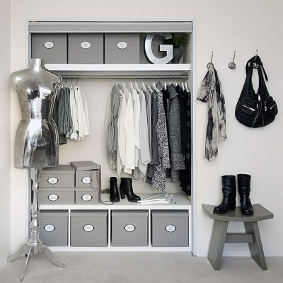 Organize your bedroom closet beautifully