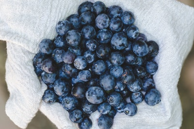 Store berries in the fridge in an open container on top of paper towels to prevent mold growth.