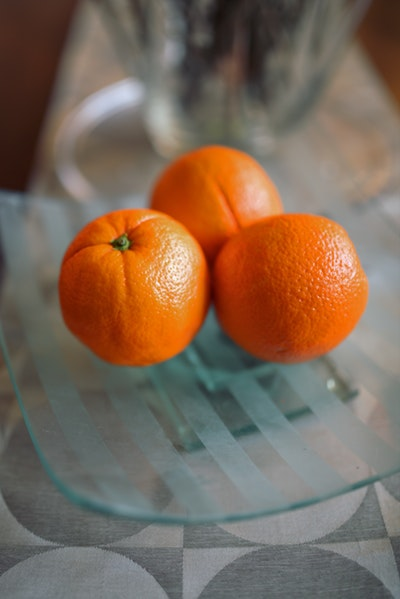 Store citrus fruit on the counter away from direct sunlight.