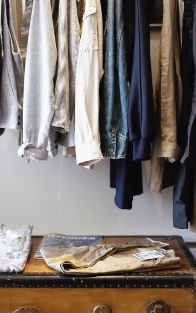 Hang your clothing rod in your closet a little bit higher to create more storage space.