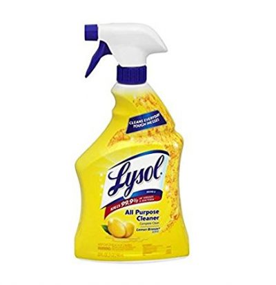 Lysol all purpose cleaner is the BEST!