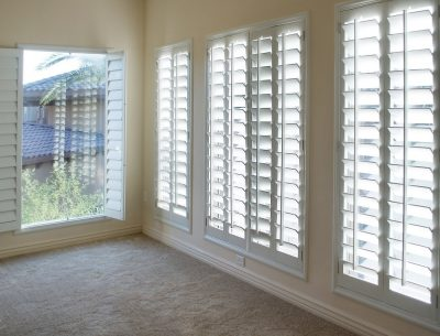Give your house a facelift with new styled shutters.