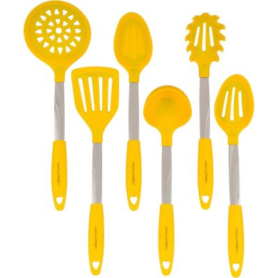 yellow culinary couture utensil set e1521222063332 - 10 Must-Have Yellow Accessories That'll Brighten Your Kitchen