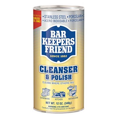 Bar Keepers friend is a household staple and cleaning product that youll w