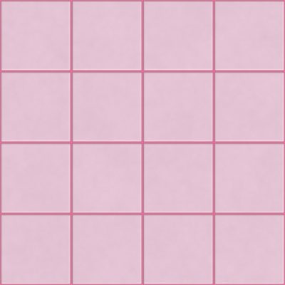 Pink bathroom tiles are retro and perfect for vintage styled home decor.