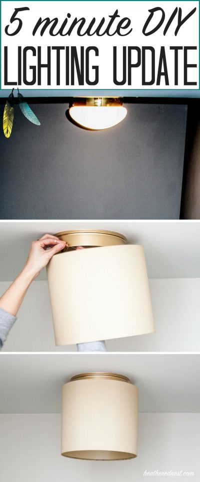 upgrade lights e1522950524161 - 10 Incredibly Genius Apartment Decorating Hacks for Renters