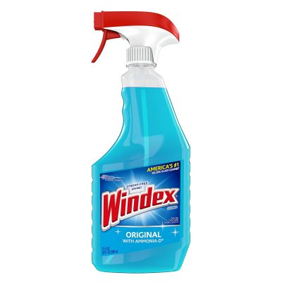 Windex is a glass cleaner that has been used for generations making it the perfect cleaning product to use when spring cleaning.