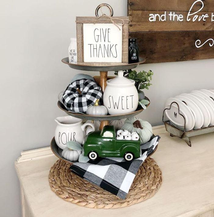 Farmhouse Kitchen Fall Decorating Ideas