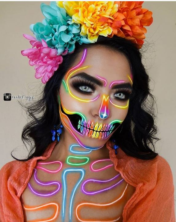 Top 20 Mind,Blowing Halloween Makeup Ideas for 2019