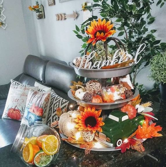 21 Best Tiered Tray Decor Ideas For Fall Of Life Lisa