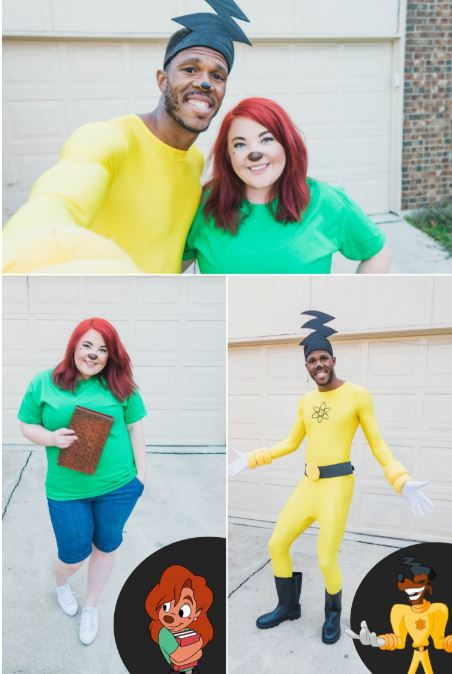 powerline roxanne halloween costume - 50 Best Couples Halloween Costume Ideas for 2019