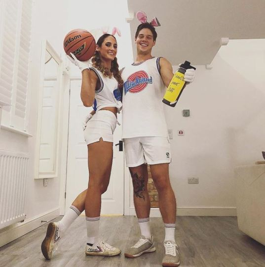 space jam bugs bunny lola couples costume halloween - 50 Best Couples Halloween Costume Ideas for 2019
