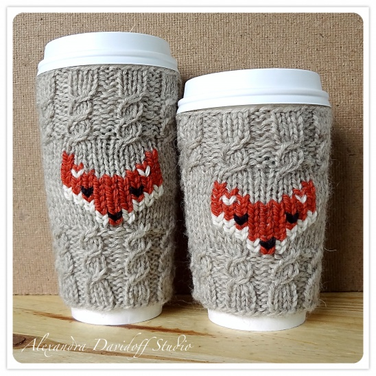 DIY FOX CUP COZY - 30+ Fall Craft Ideas to Make and Sell for Extra Money