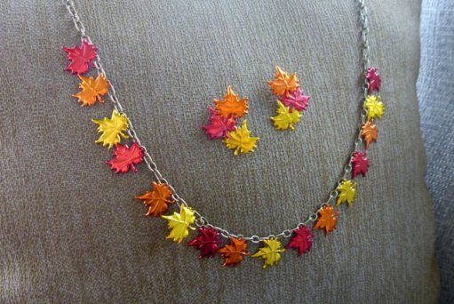 diy fall leaf necklace - 30+ Fall Craft Ideas to Make and Sell for Extra Money