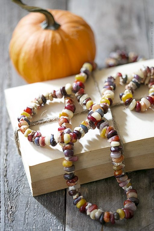 indian corn necklace - 30+ Fall Craft Ideas to Make and Sell for Extra Money